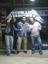 Previas a Metallica 2010